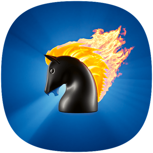 Tolstoy playing chess with the son of Vladimir Chertkov