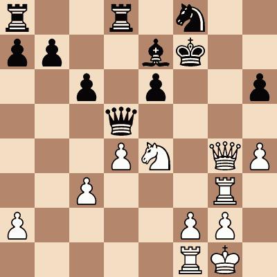 diagram of Viktor Korchnoi vs. Peterson chess puzzle