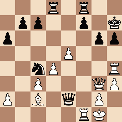 diagram of Simen Agdestein vs. Al Qudaimi chess puzzle