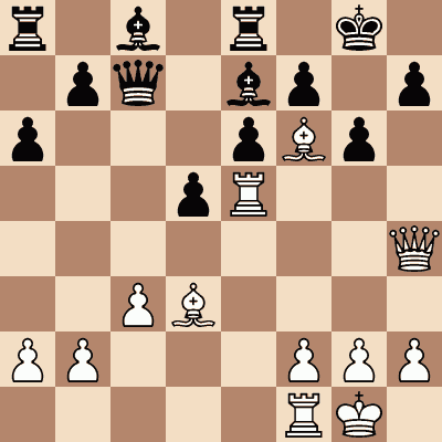 diagram of Pilotelle vs. Vernay chess puzzle