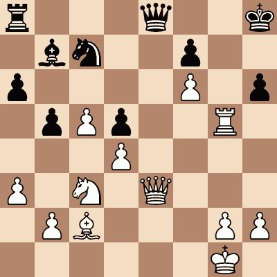 diagram of Alexander Alekhine vs. Samuil Weinstein chess puzzle