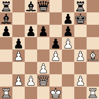 diagram of Mate in Two chess puzzle