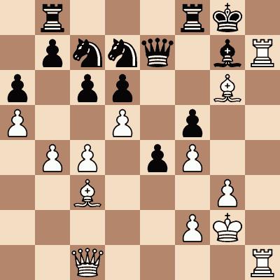 diagram of Nona Gaprindashvili vs. Eliška Richtrová chess puzzle