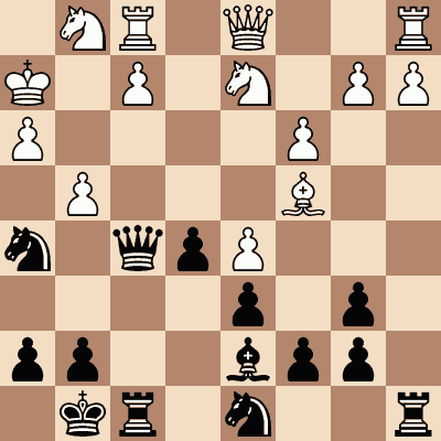 diagram of Popert vs. John Cochrane chess puzzle
