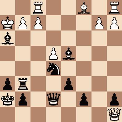 diagram of Alexander Meek vs. Paul Morphy chess puzzle