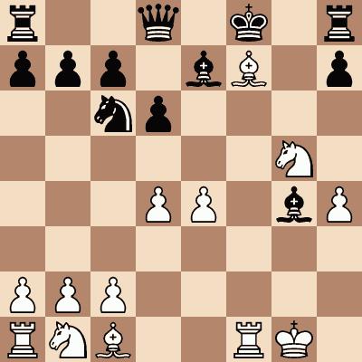 diagram of Jacques Schwarz vs. Samsonov chess puzzle