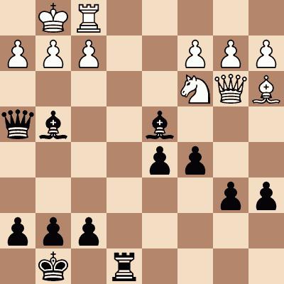 diagram of Boikhutso Mudongo vs. Karolina Olsarova chess puzzle
